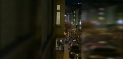 Terör örgütü yandaşları Almanya'da camiye saldırdı!