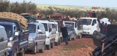Teröristler bıraktı, Afrinliler akın etti