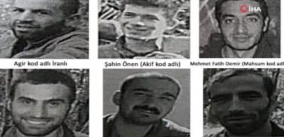 Teröristlerin saklandığı mağaraya bomba yağdı