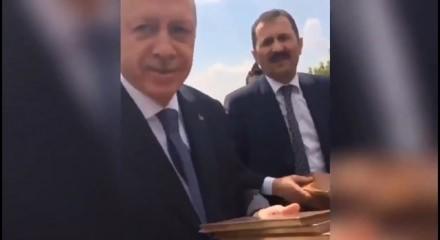 Başkan Erdoğan'ın samimi diyaloğu kamerada ile ilgili görsel sonucu
