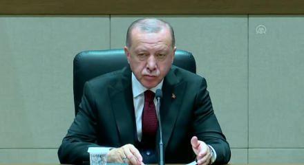 """Erdoğan'ın bir cümlesi dünyayı salladı: Muhatabımız siz değilsiniz, önümüzden çekilin ile ilgili görsel sonucu"""""""