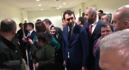 Erdoğan'ın özel misafiri polisler için Erdoğan'dan söz aldı