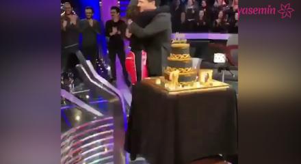 İman Elbani eşi Murat Yıldırım'a  doğum günü sürprizi yaptı