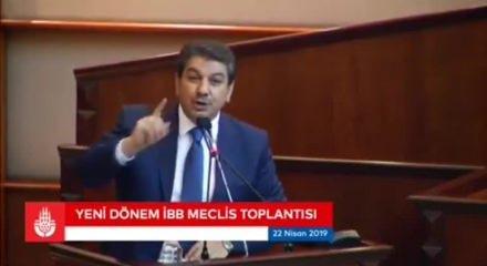 Mehmet Tevfik Göksu'dan İBB Meclis toplantısında tarihi konuşma