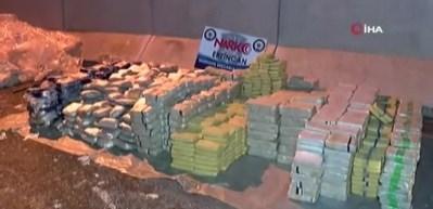TIR'dan 1 ton 271 kilogram eroin çıktı