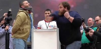 Tokat atma şampiyonu konuştu: Tokat atmak istemiyorum