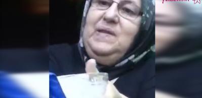 Torununa yemek yedirirken anı yaşayan babaanne