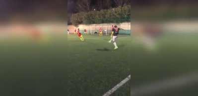 Totti'den halı saha maçında muhteşem gol!
