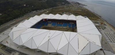 Trabzon Akyazı Stadı tamamlanıyor