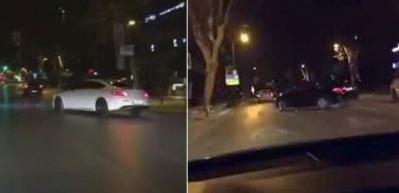 Trafik magandası Bağdat Caddesinde terör estirdi