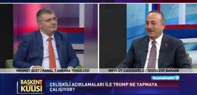 Trump Erdoğan'ı mı örnek alıyor? Bakan Çavuşoğlu açıkladı