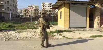 TSK, Afrin'de mayın temizliğine devam ediyor