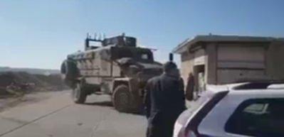 TSK konvoyu Halep'in kuzeyindeki Anadan'a giderken...