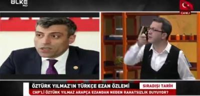 Turgay Güler'den CHP'li Yılmaz'ı köşeye sıkıştıracak 'ezan' çağrısı