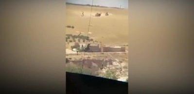Türk askeri Menbiç'te! İşte ilk görüntü