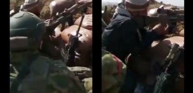 Türk askerinden SMO'ya atış talimi: Vurdun mu?
