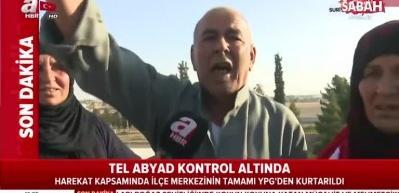 Türk Bayrağı'nı öperek kutladı