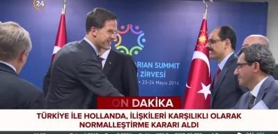 Türkiye - Hollanda ilişkileri normalleşiyor