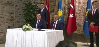 Türkiye-Kazakistan Karma Ekonomik Komisyonu Toplantısı imza töreni