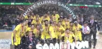 Türkiye Kupası şampiyonu Fenerbahçe Beko!