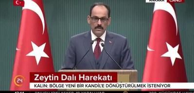 Türkiye'den Esed rejimine çağrı
