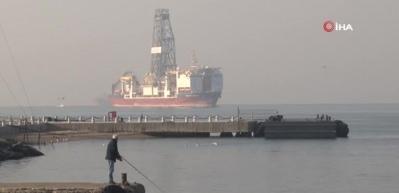 Türkiye'nin ikinci sondaj gemisi boğazdan geçti!