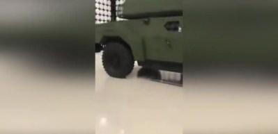 Türkiye'nin ilk elektrikli zırhlı aracı: Akrep II