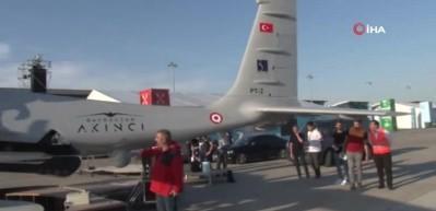 Türkiye'nin yerli ve milli silahlı İHA'sı Akıncı ilk defa görücüye çıktı