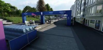 UEFA hazırladı! İşte final zamanı Taksim meydanı...