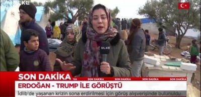 Ülke TV canlı yayınında yürekleri ısıtan görüntü
