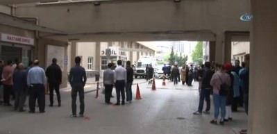Ümraniye Devlet Hastanesi önünde dehşet anları