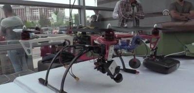 Üniversite öğrencilerinden 3D yazıcı ile 'yerli drone'