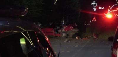 Uşak'ta ehliyetsiz ve alkollü sürücü faciası: 2 ölü, 1 yaralı