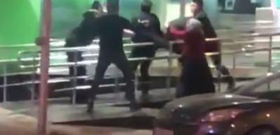 Üsküdar'da ATM sırasında yumruklu kavga