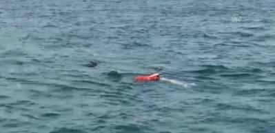 Üsküdar'da denize düşen kadın kurtarıldı
