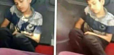 Üstü kirli diye minibüste koltuğa oturtulmamıştı! O çocuk konuştu