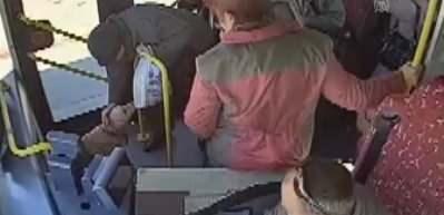 Üşüdüğü için otobüse binen köpeği 1,5 saat gezdirdi