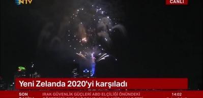 Ve o ülke 2020'ye girdi!