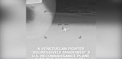 Venezuela'ya ait Rus yapımı Su-30 savaş uçağı ABD uçağını önledi