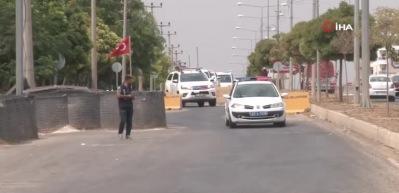Türk askeri yetkililer ABD'li heyetle görüşmek için Akçakale'de