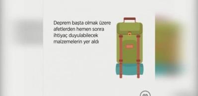 Afet çantasında neler olmalı?