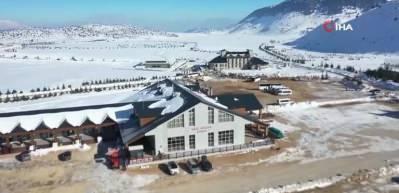 Yarıyıl tatilinin vazgeçilmezi Isparta Davraz Kayak Merkezi