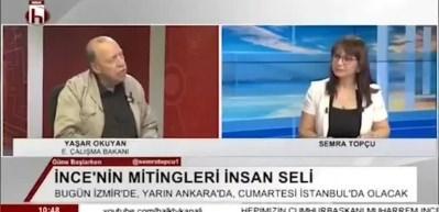 Yaşar Okuyan: Erdoğan yüzde 50'yi geçsin kafama sıkmassam şerefsizim