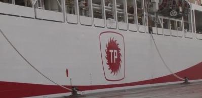 Yavuz Sondaj Gemisi uğurlanıyor