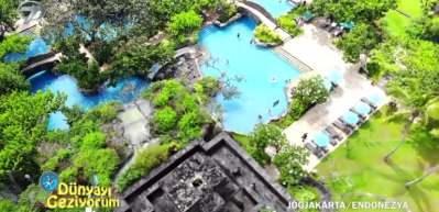 Yemyeşil doğa içerisinde Endonezya'nın tatil havası