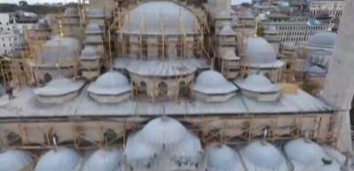 Yeni Cami'de tarihin en kapsamlı restorasyonu