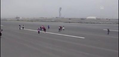 Yeni Havalimanı'nın ilk konuğu çocuklar oldu