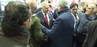Yıldırım, CHP Seçim Koordinasyon Merkezi'ni ziyaret etti