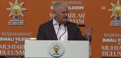 Yıldırım: Erdoğan at oynatmalarına izin vermiyor