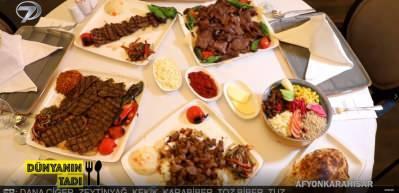 Yöresel lezzetler şöleni: Afyon kebabı ve meşhur ızgara ciğeri